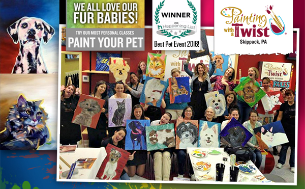 Paint Your Pet! @ Painting With a Twist - Skippack, PA | Schwenksville | Pennsylvania | United States